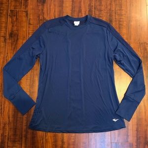 Everlast Thumb Hole Work Out Long Sleeve Top